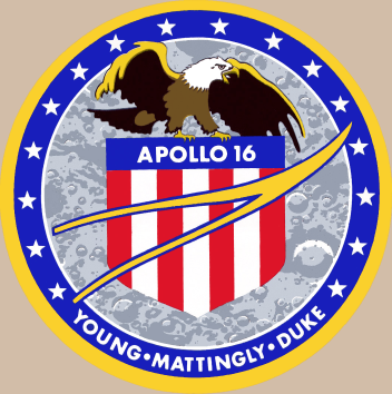 Apollo 16 logo